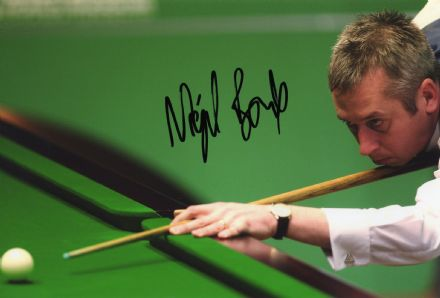Nigel Bond, signed 12x8 inch photo.